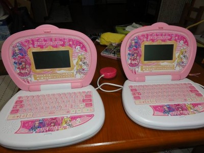 プリキュアMyパソコン2台