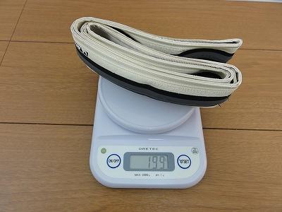 タイヤ ミシュラン PRO3 実測重量