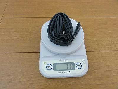 チューブ ミシュラン Air Comp 実測重量