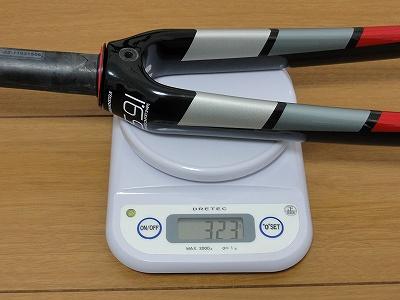 Simplon Pavo フォーク 実測重量