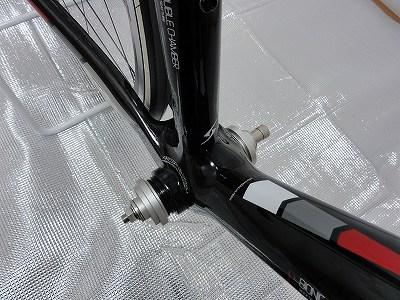 バイクハンド BB圧入工具 取り付け