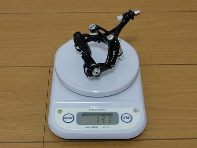 リアブレーキ カンパ コーラス 実測重量