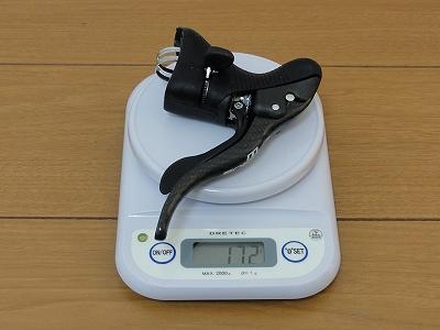 エルゴパワー カンパ コーラス 左 実測重量