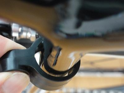 パナソニック SKL090 固定ホルダーとシートステーの隙間