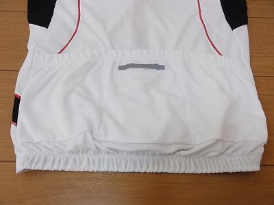 TIGORA 半袖サイクルジャージ 背面 ポケット