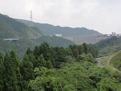 嘉瀬川ダム 堤体
