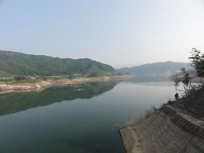 嘉瀬川ダム ダム湖
