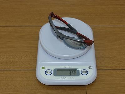 SWANS WARRIOR6 実測重量