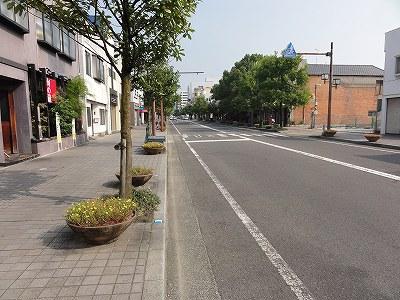 白山通り(佐賀市)