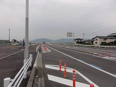 県道江北芦刈線 三王崎交差点