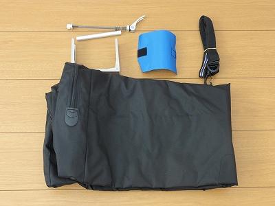 オーストリッチ 輪行袋 ロード520 付属品