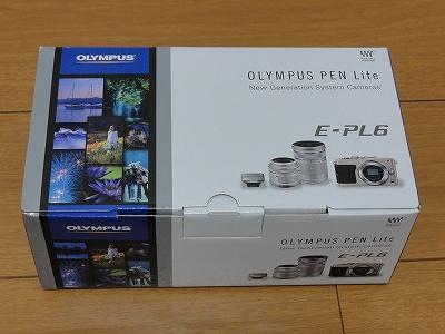 オリンパス PEN Lite E-PL6 ダブルズームキット 箱
