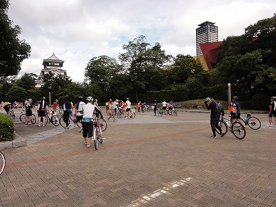 サイクルツアー北九州2013 受付