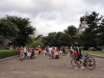 サイクルツアー北九州2013 検車