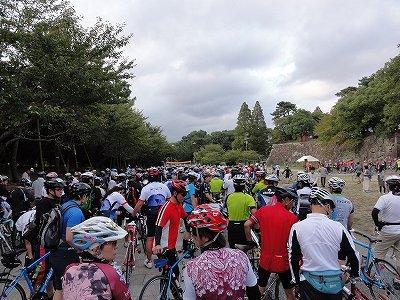 サイクルツアー北九州2013 たくさんの参加者