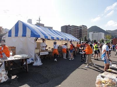 サイクルツアー北九州2013 第1エイドポイント 門司港レトロ