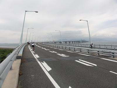 サイクルツアー北九州2013 北九州空港 連絡橋