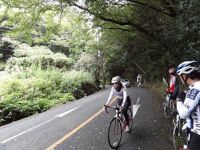 サイクルツアー北九州2013 合馬の峠 最高地点
