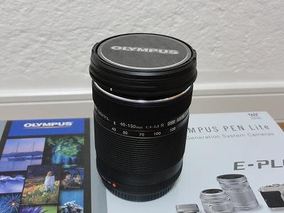 オリンパス PEN Lite E-PL6 望遠ズームレンズ M.ZUIKO DIGITAL 40-150mm F4.0-5.6 R