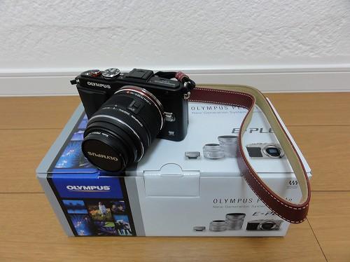 オリンパス PEN Lite E-PL6 レンズ取り付け