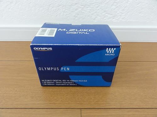 M.ZUIKO DIGITAL ED 14-150mm F4.0-5.6 ヤフオクで入手