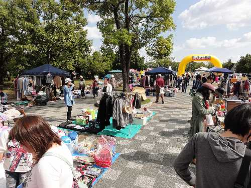 さが環境フェスティバル2013 フリーマーケット