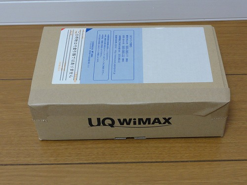 Try WiMAX 機器到着