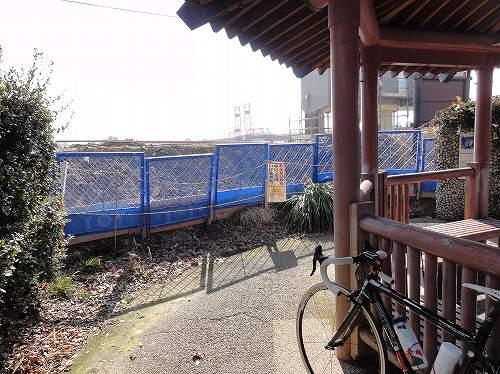 昇開橋 工事中 2014/02/22