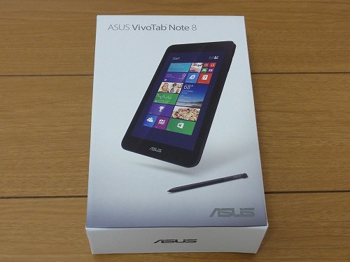 ASUS VivoTab Note 8 Windows8.1 箱