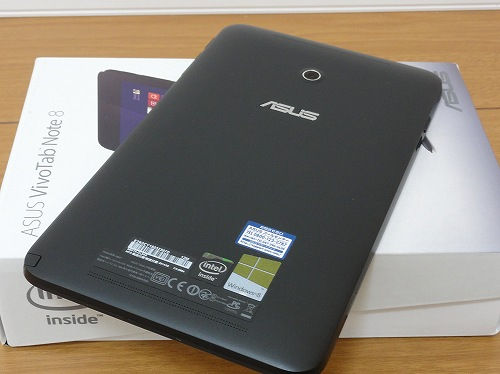 ASUSU VivoTab Note 8 背面