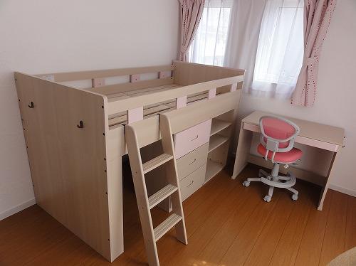 ニトリ システムベッド チャオ3 ピンク