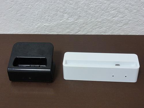 WX01 WM3800R クレードル 比較 比較 前面 WiMAX2+