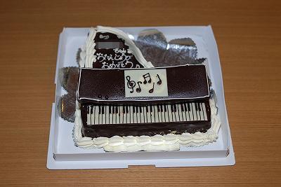 パティスリー イチリュウ 記念ケーキ ピアノ