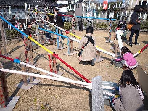 佐賀城下ひなまつり 2014 遊び場