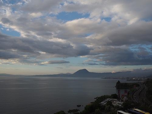 別府湾ロイヤルホテル 部屋からの眺望 家族旅行