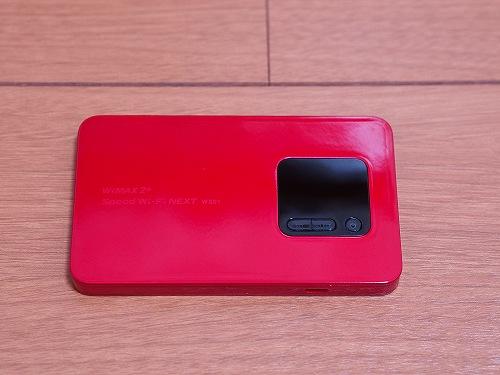 WiMAX2+ 端末 NEC WX01 本体 正面