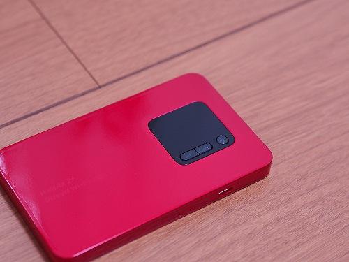 WiMAX2+ 端末 NEC WX01 ボタン