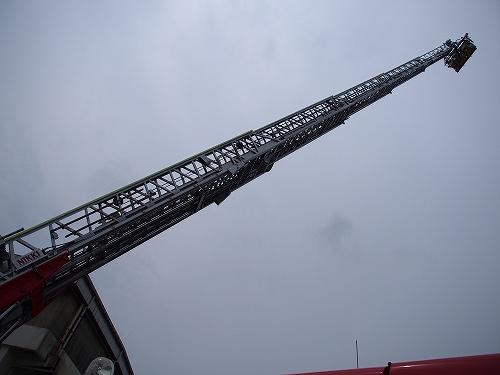 消防 はしご車 たけ丸サマーフェスティバル2015 たけお競輪